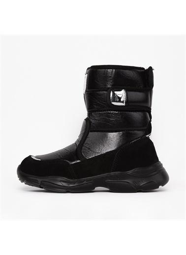 Buckhead Buckhead Atlantic Shiny Kız Çocuk Çizme 1045 1045-001001 Siyah